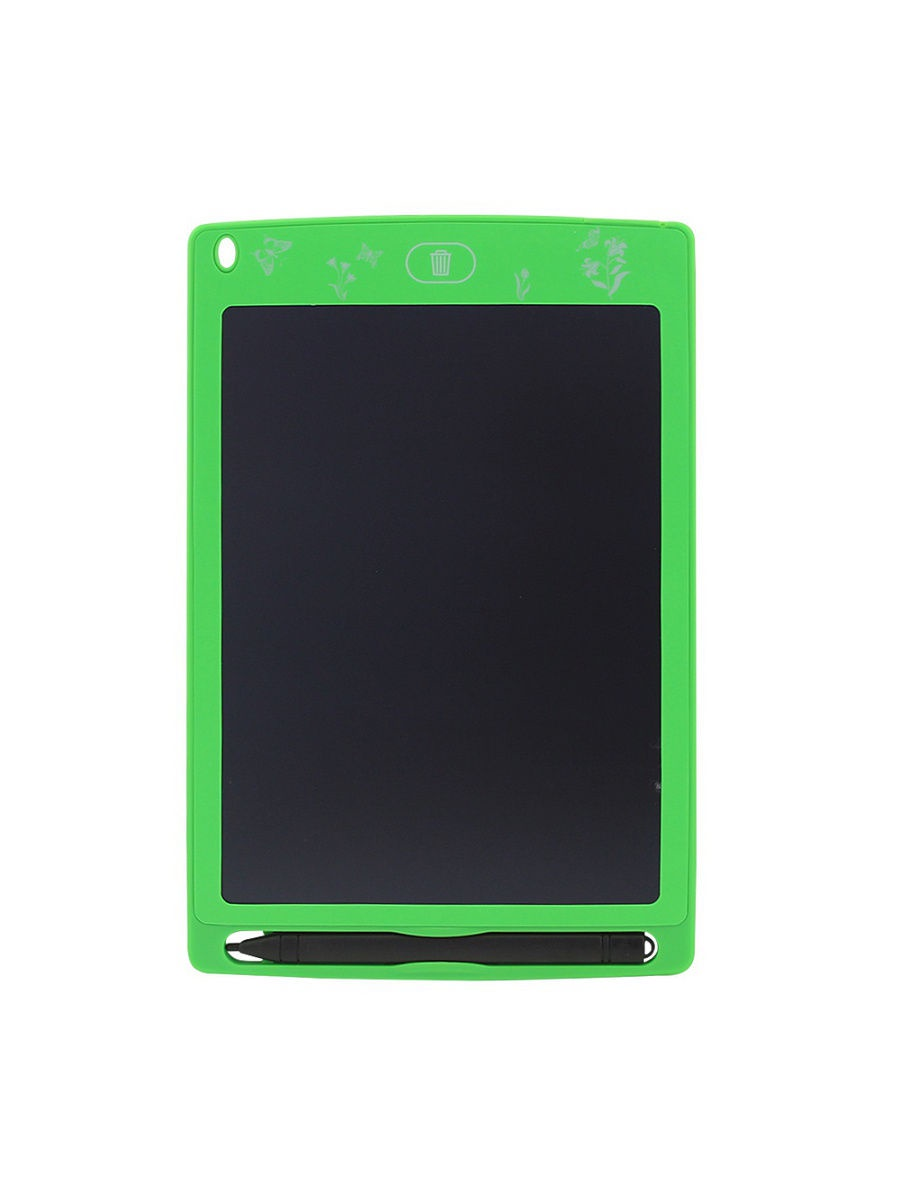 Графический планшет для рисования зеленый SXB03-16 DOLEMIKKI
