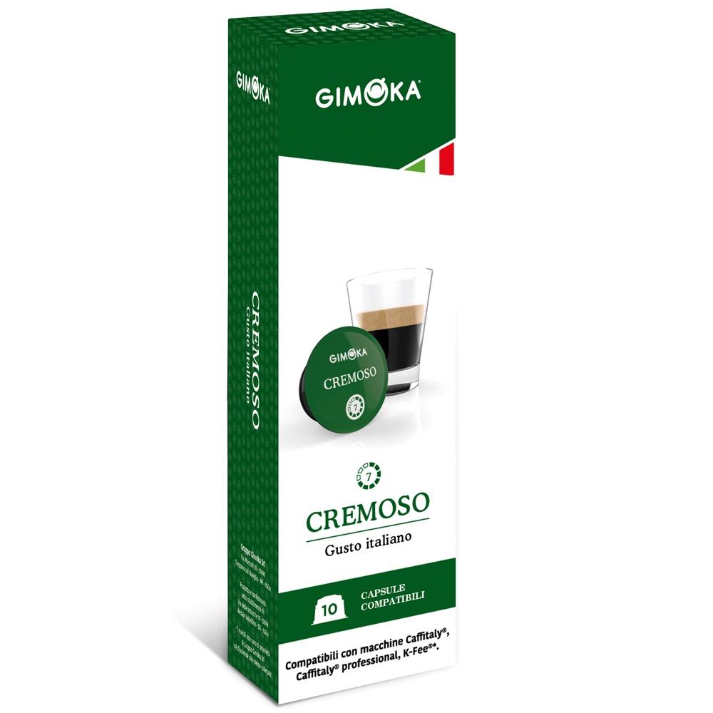 Кофе в капсулах Gimoka CREMOSO, 10 шт капсулы vergnano e spresso cremoso 10 шт