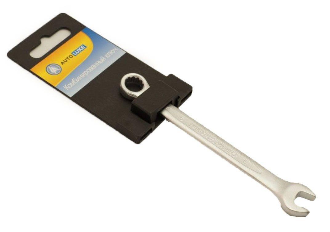 лучшая цена 60921 Ключ комбинированный 9мм Cr-V