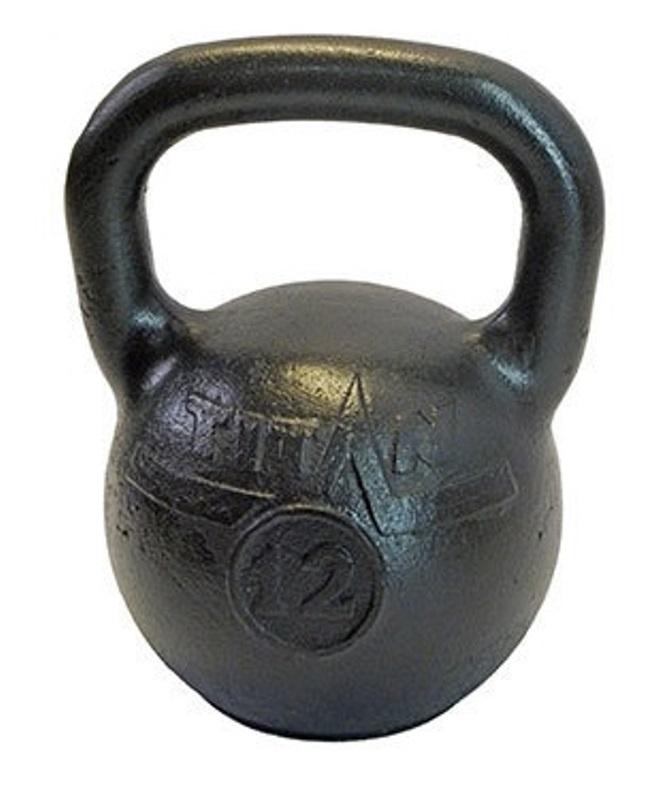 Гиря TITAN чугунная гиря titan 8 кг
