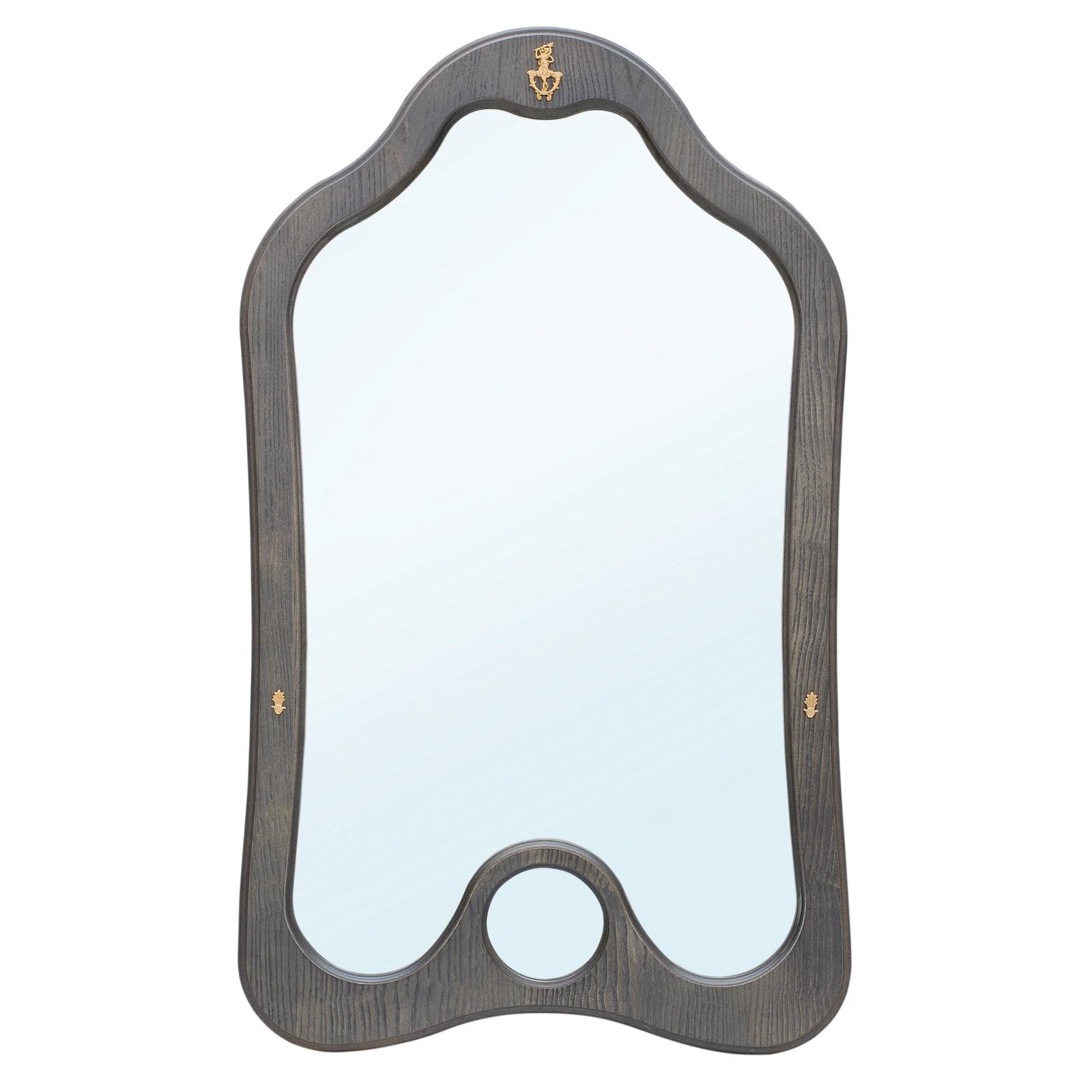 Зеркало настенное Висан Джульетта, серый висан банкетка висан джульетта орех qphyt qy