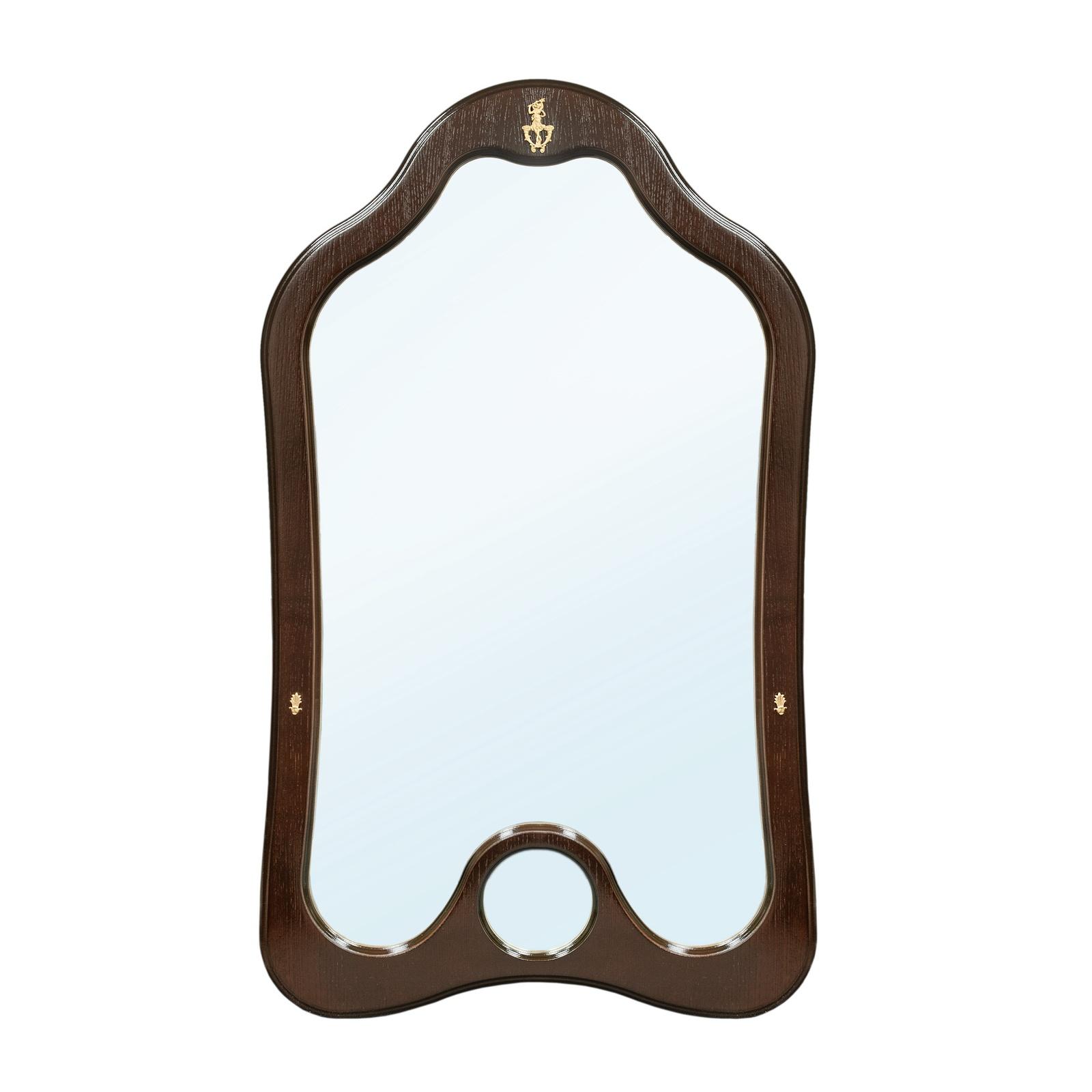 Зеркало настенное Висан Джульетта, коричневый висан банкетка висан джульетта орех qphyt qy