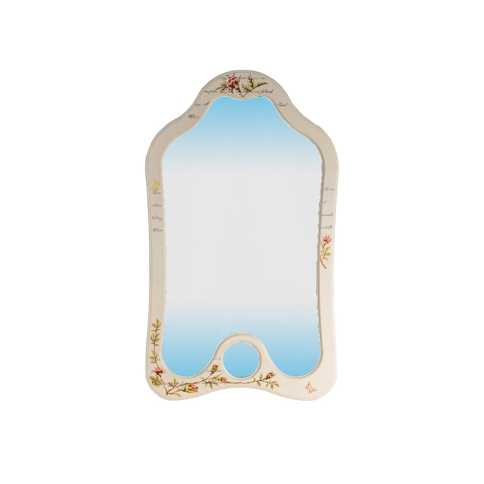 Зеркало настенное Висан Джульетта, светло-бежевый висан банкетка висан джульетта орех qphyt qy