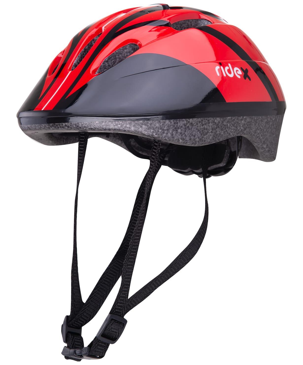 Шлем защитный Ridex Rapid, красный шлем ridex ут 00008189 cyclone синий чёрный