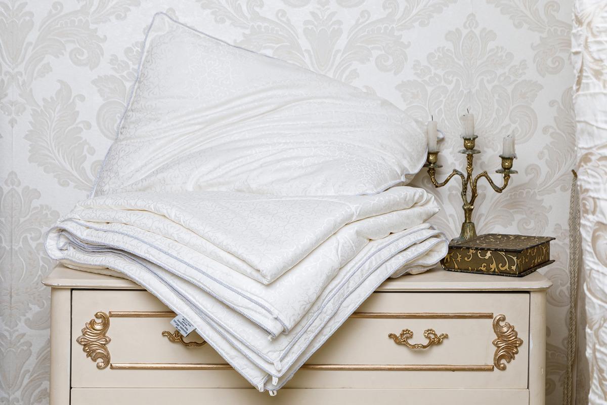 Шелковое одеяло Luxe Dream Luxury Silk, DCS1001, молочный, 140 х 205 см