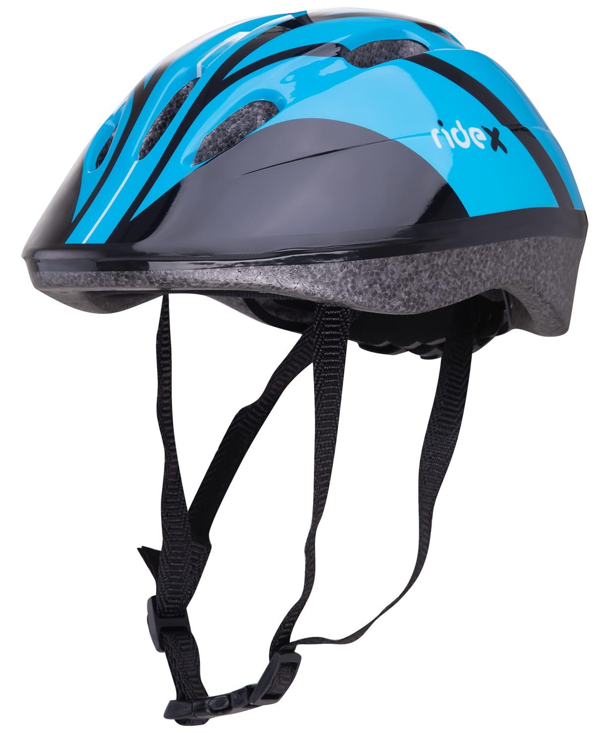 Шлем защитный Ridex Rapid, голубой шлем ridex ут 00008189 cyclone синий чёрный