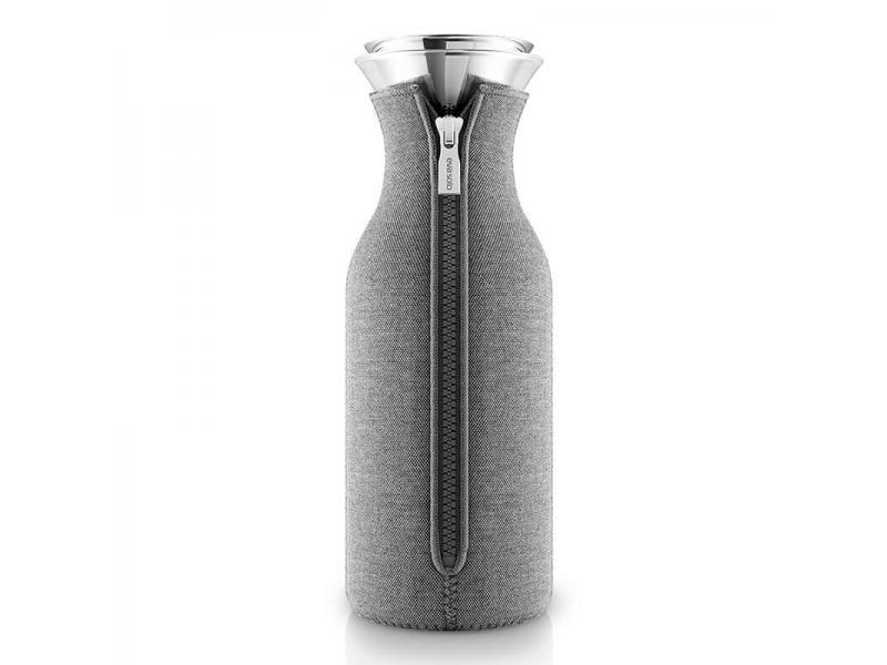 Бутылка для воды 1L Fridge Carafe Dark Grey, темно-серый