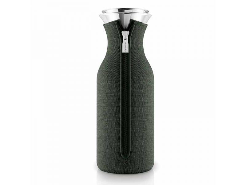 Бутылка для воды 1L Fridge Carafe Forest Green, темно-зеленый