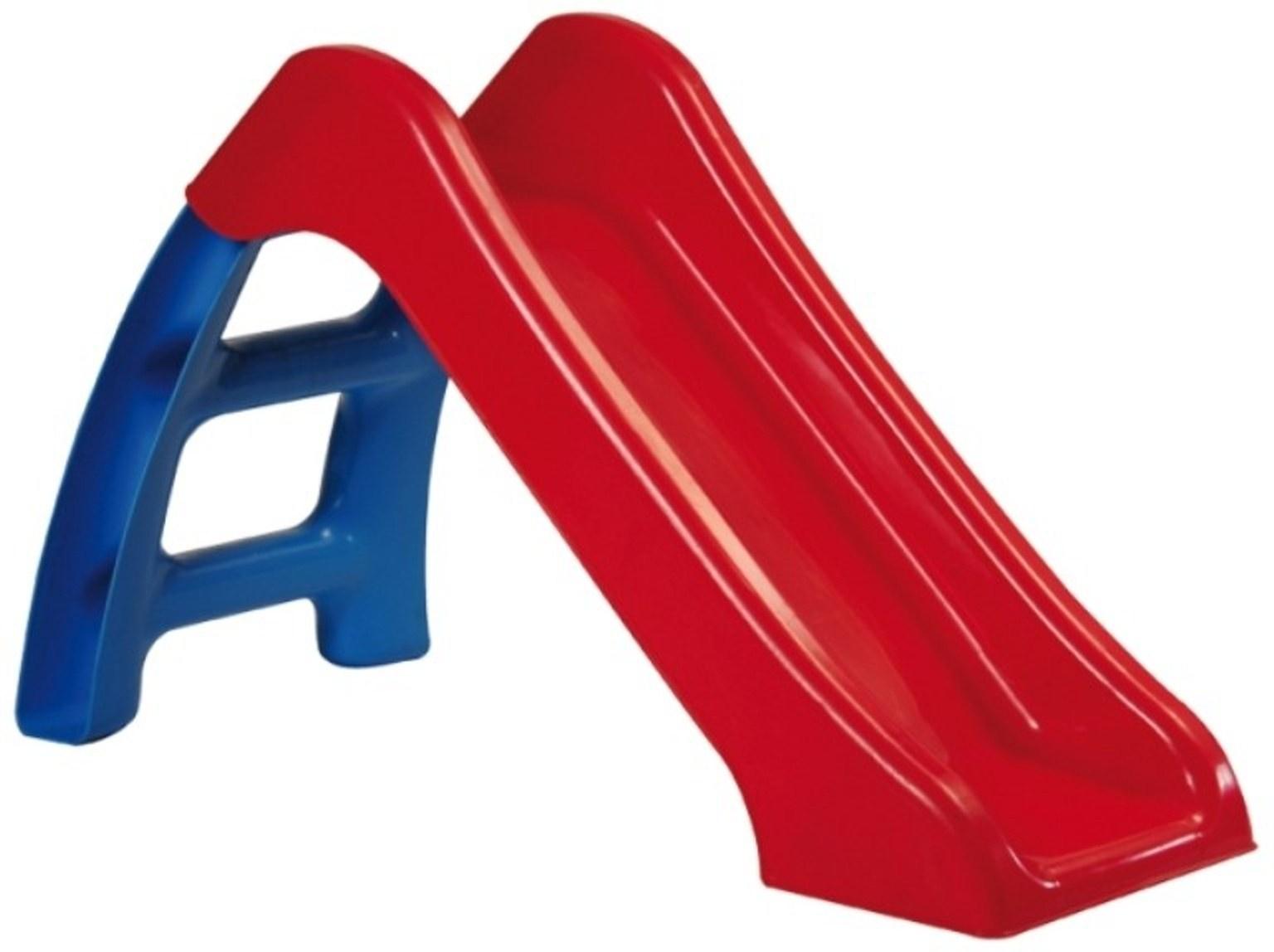 Детская горка Пластик С115 (Синий/Красный) синий, красный