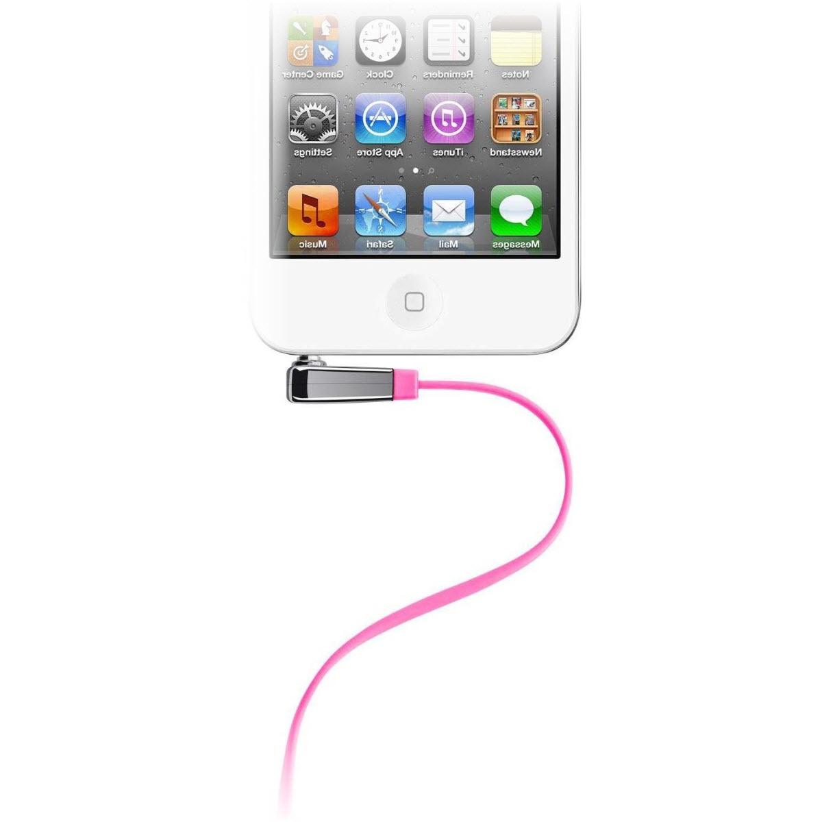 лучшая цена Аудио кабель Belkin AV10128cw03-PNK для подключения Apple