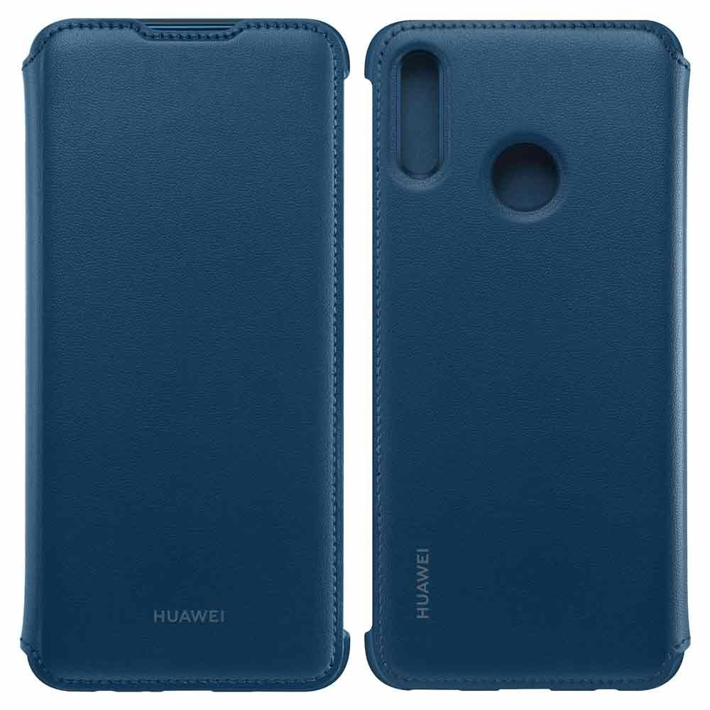 Чехол для сотового телефона Wallet Cover Чехол-книжка Huawei P smart 2019 Blue, синий