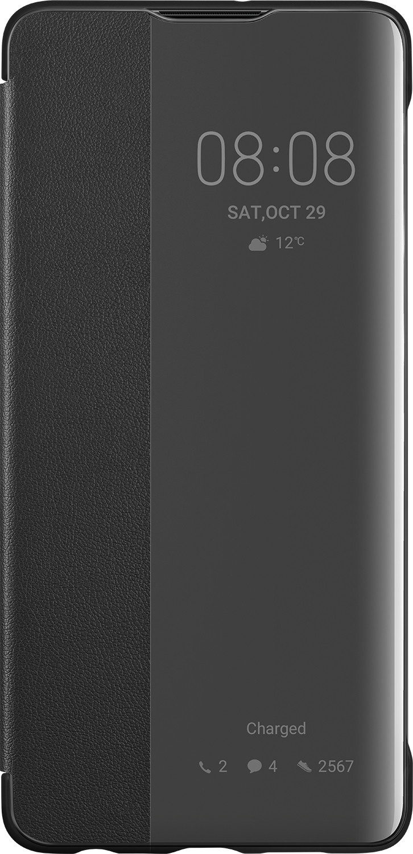 Чехол для сотового телефона Flip Cover Чехол-книжка Flip Smart View Cover Huawei P30 Pro Black, черный цена и фото