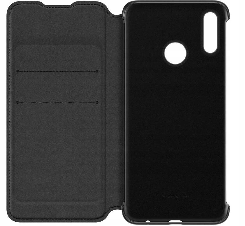Чехол для сотового телефона Flip Cover Чехол-книжка Flip Smart View Cover Honor 10 Black, черный стоимость