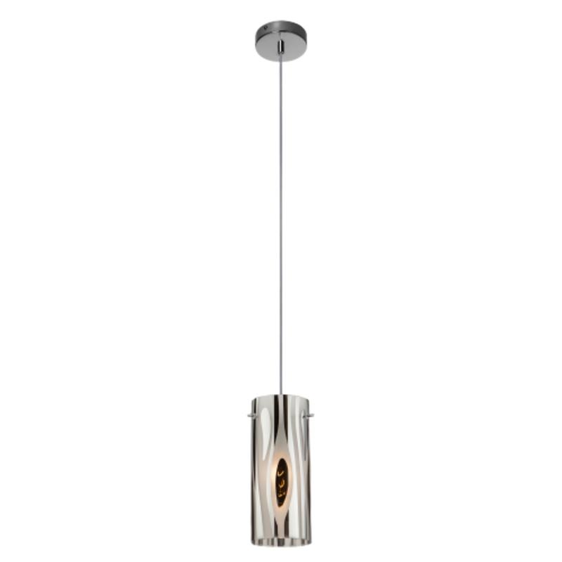 Подвесной светильник EUROSVET 1575/1 хром, E27, 60 Вт