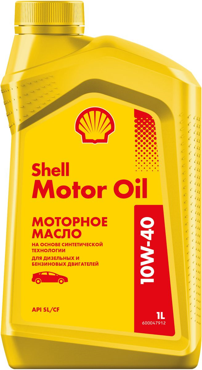 Shell Моторное Масло Shell Motor Oil 10w-40 1l