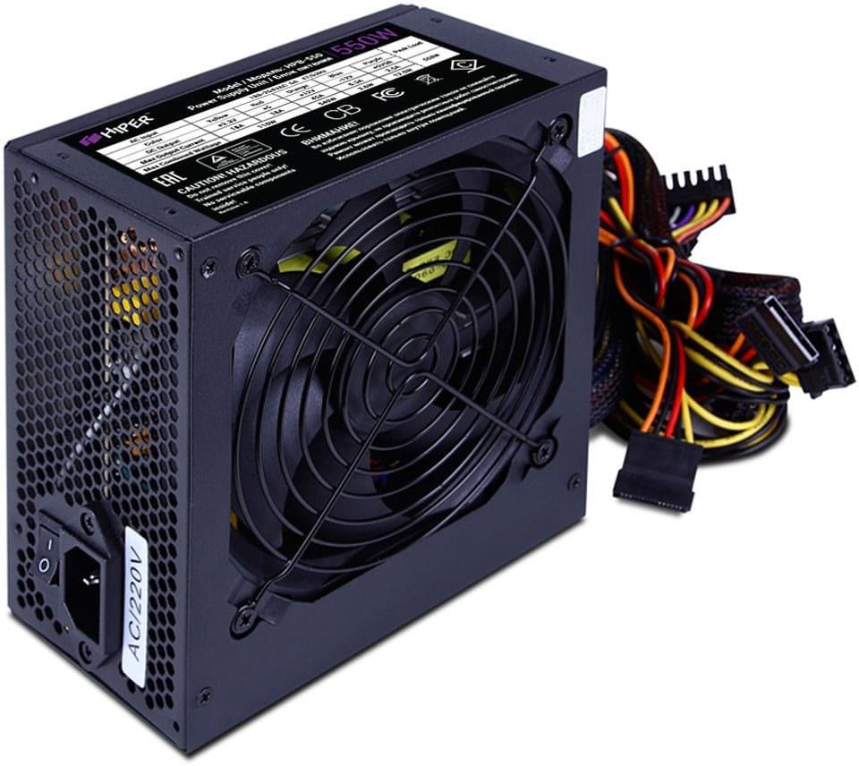 Блок питания компьютера Hiper HPB-550