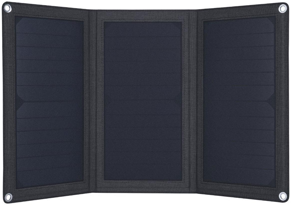 Солнечная панель Aukey Foldable 21W Solar Panel, темно-серый