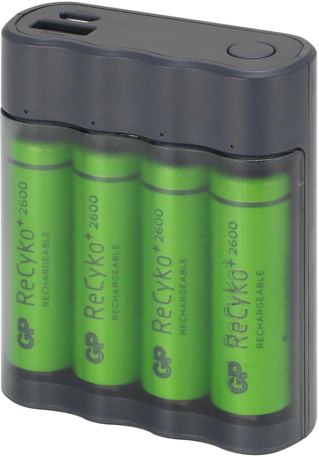 Многофункциональное зарядное устройство GP Batteries X411270AAHCE-2CRB4