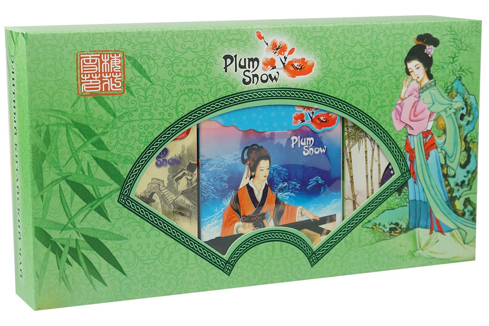 Чай листовой Plum Snow PS204 plum snow молочный улун листовой чай 100 г