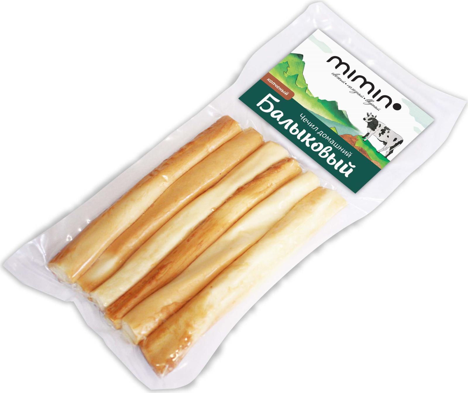 Сыр Mimin Чечил-Балыковый домашний, копченый 40%, 100 г
