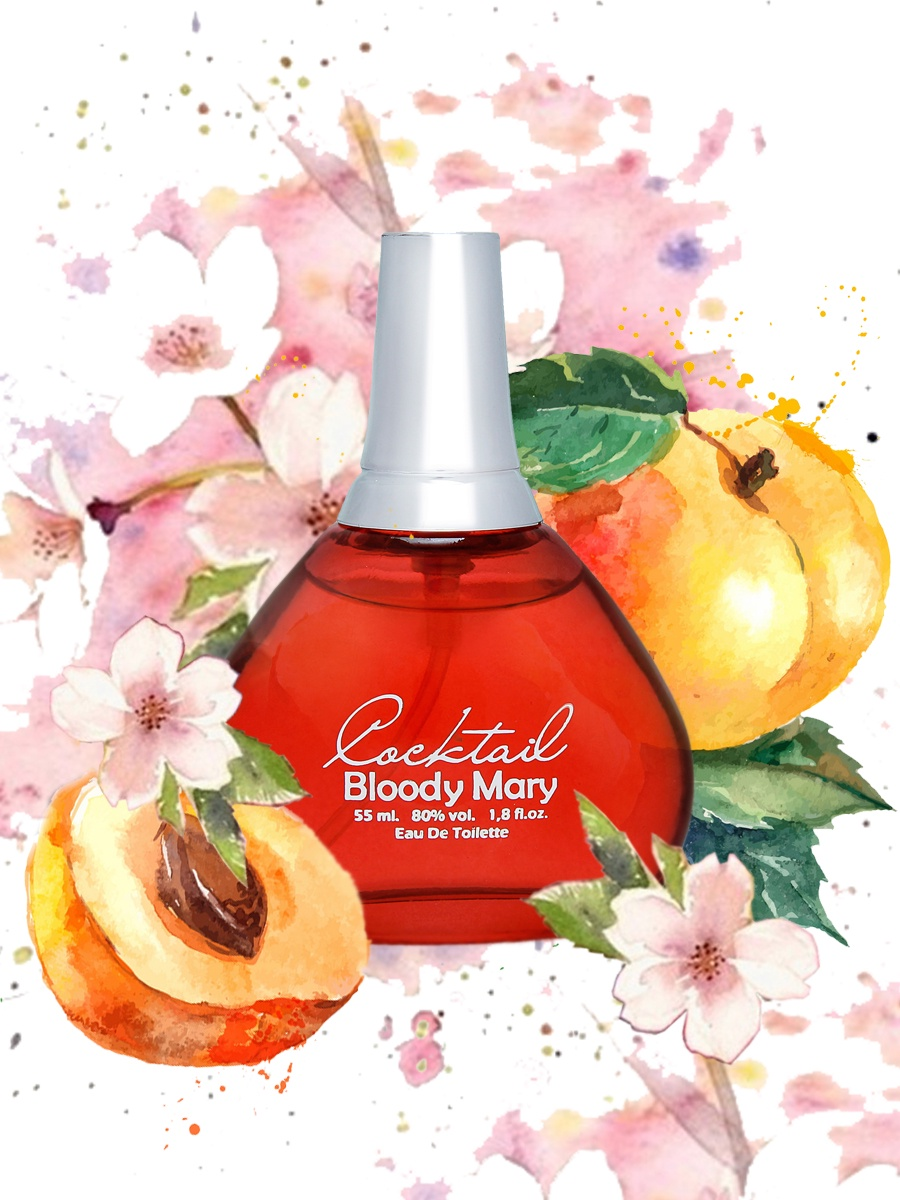 Apple Parfums Cocktail Bloody Maryженская 55 мл 55 мл .