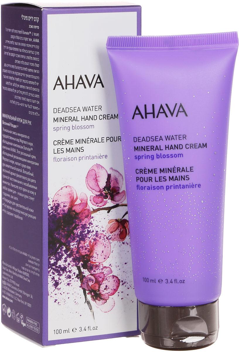 Минеральный крем для рук Ahava Deadsea Water, 100 мл крем для рук ahava clineral x zem 125 мл