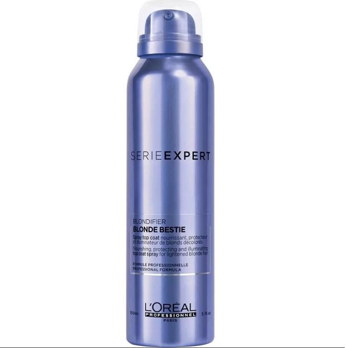 Спрей уходовый LOreal Professionnel Blondifier Spray спрей для оттенков блонд 150ml.