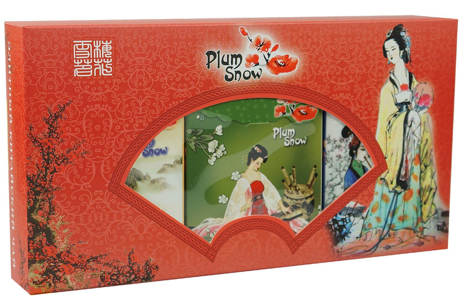 Чай листовой Plum Snow PS205 plum snow молочный улун листовой чай 100 г