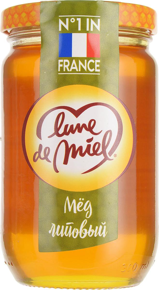 Lune de Miel Мед липовый, 375 г мед натуральный берестов а с липовый башкирхан 360 г
