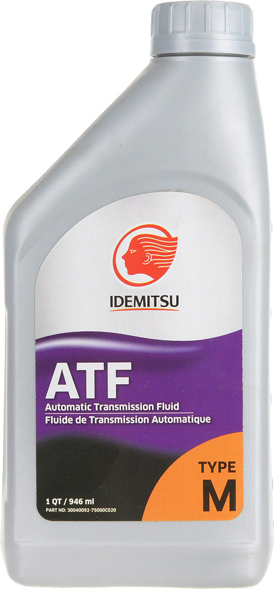 Масло трансмиссионное IDEMITSU, синтетическое, ATF Type M, 1 л