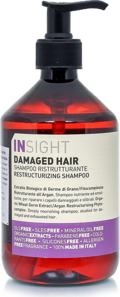Шампунь для поврежденных волос Insight Damaged Hair, 400 мл insight шампунь для поврежденных волос 100 мл