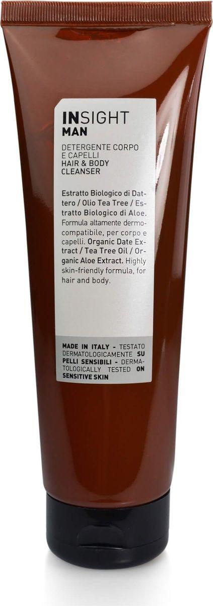 Очищающее средство для волос и тела Insight Man, 250 мл insight регенерирующее масло для тела 50 мл