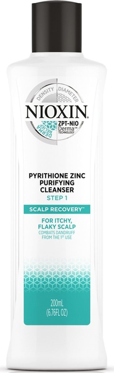 Очищающий шампунь противперхоти Nioxin Scalp Recovery, 200 мл