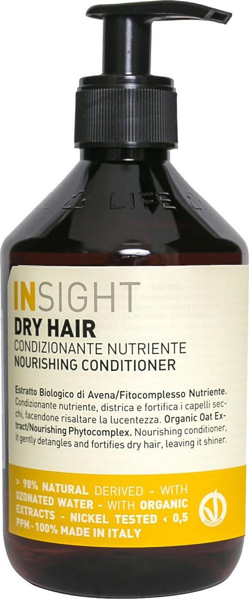 Увлажняющий кондиционер для сухих волос Insight Dry Hair, 400 мл sisley hair rituels кондиционер для волос с протеинами хлопка hair rituels кондиционер для волос с протеинами хлопка