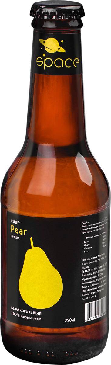 Безалкогольный сидр Space Pear Груша, 250 мл