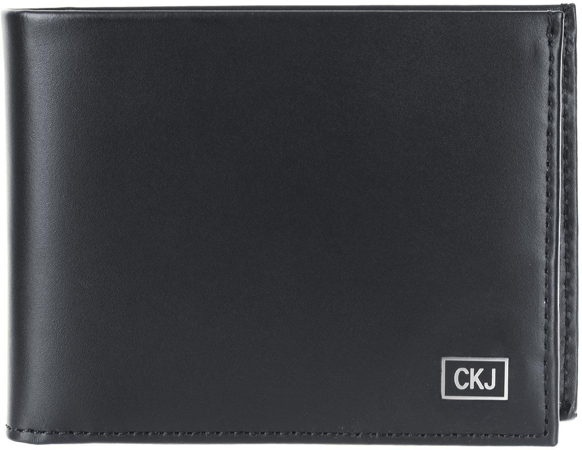 купить Кошелек мужской Calvin Klein Jeans, K50K504534_10, черный по цене 6000 рублей