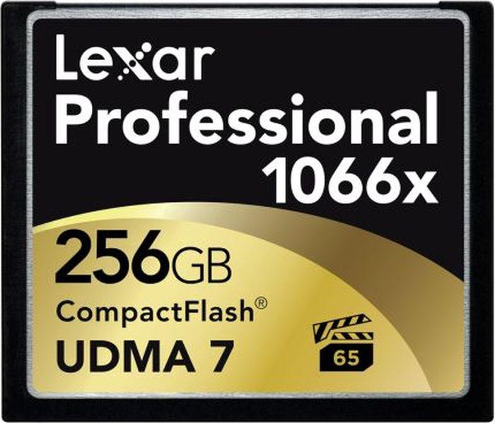 Карта памяти Lexar Compact Flash 256GB 1066x карта памяти 32