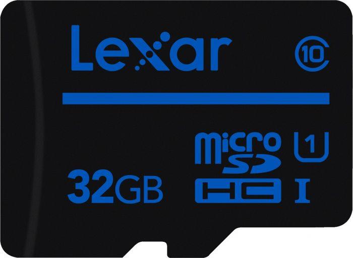 Карта памяти Lexar microSDHC 32GB Class10 UHS-I без адаптера все цены