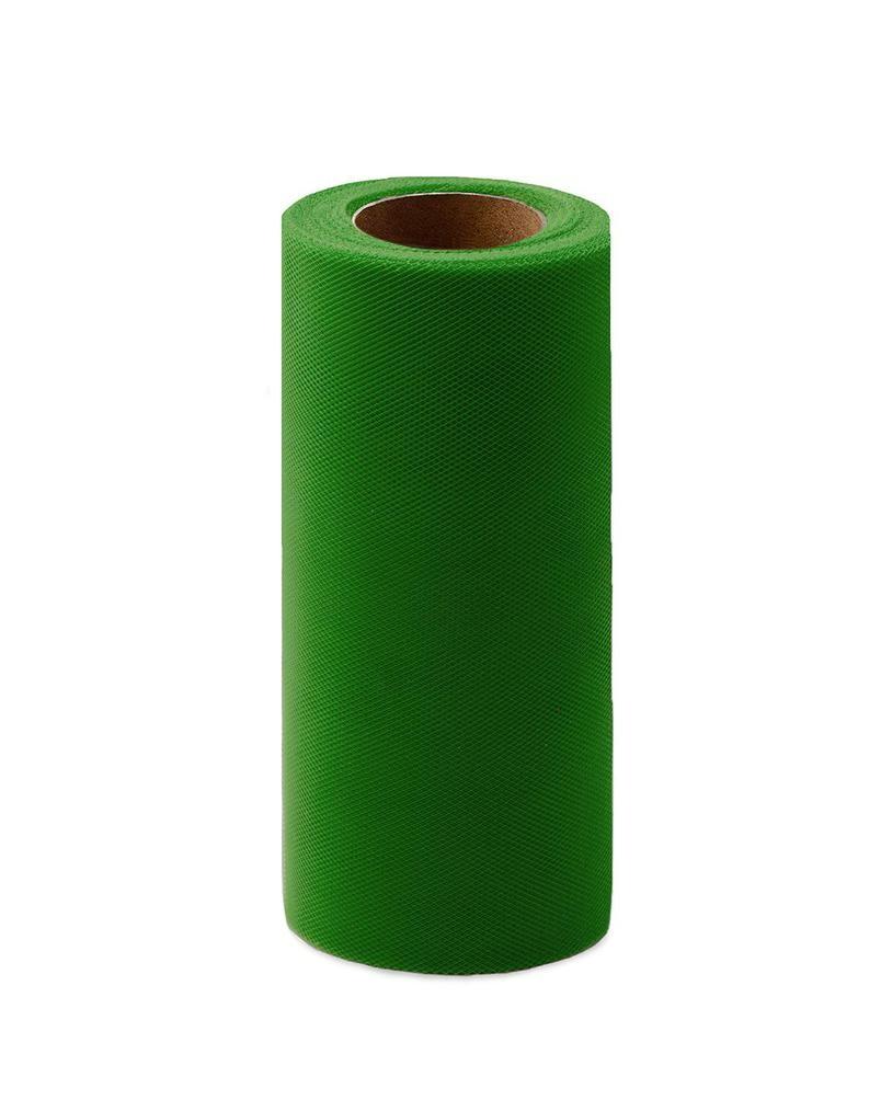 Фото - Ткань Caramelkalife Фатин средней жесткости в шпульке. Цвет Зеленый. балдахины для кроваток pituso универсальный фатин