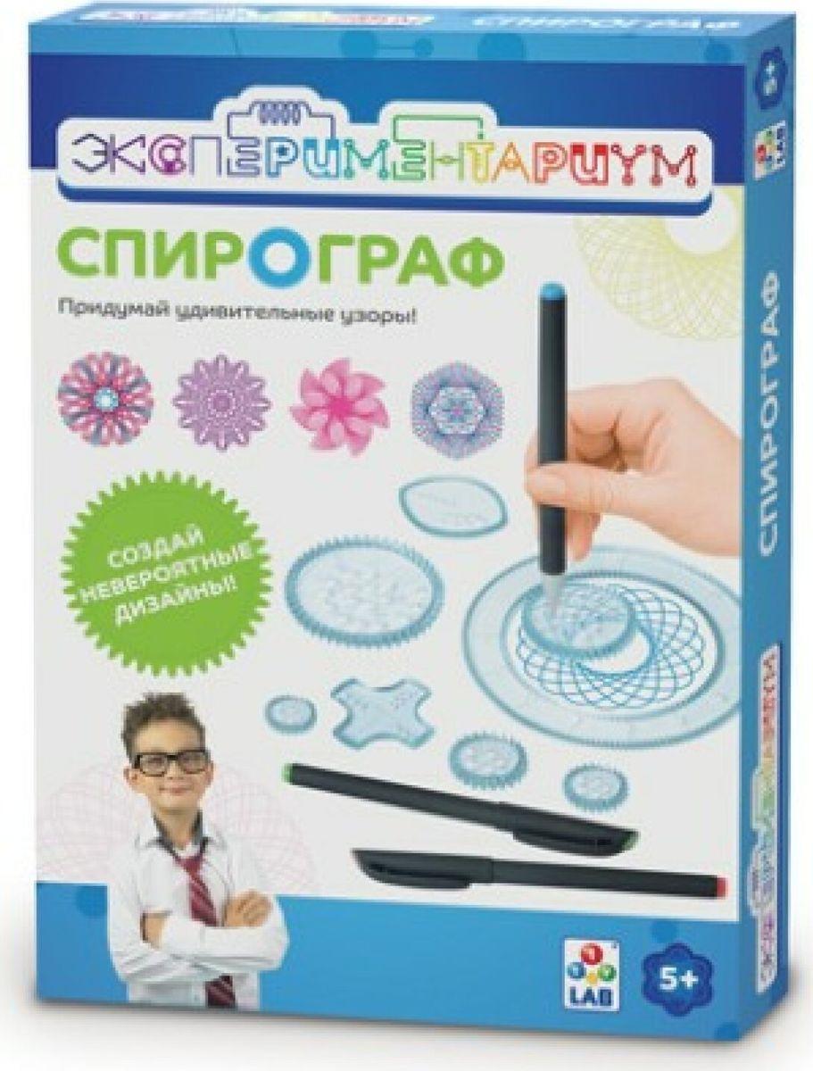 Набор для опытов и экспериментов 1TOY Экспериментариум Спирограф, Т14040, мультиколор цены онлайн