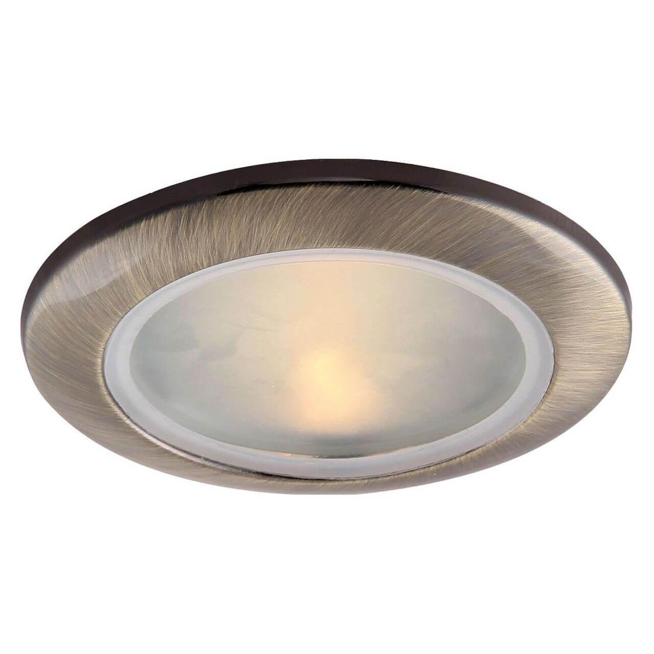 Встраиваемый светильник Arte Lamp A2024PL-1AB, GU10, 50 Вт arte lamp встраиваемый светильник aqua a2024pl 1wh