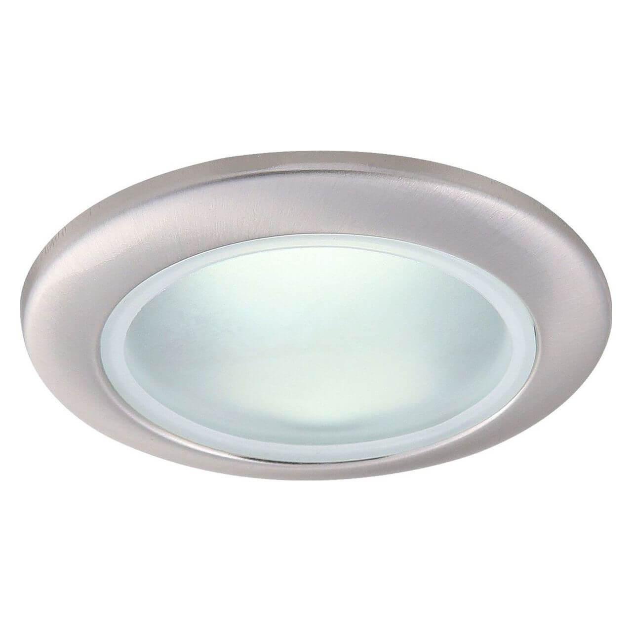 Встраиваемый светильник Arte Lamp A2024PL-1SS, GU10, 50 Вт arte lamp встраиваемый светильник aqua a2024pl 1wh