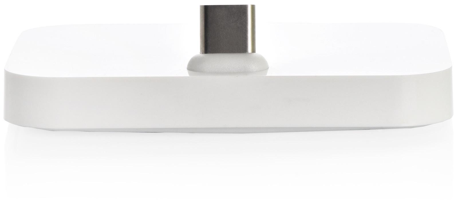 Док станция Gurdini white Type-C для смартфонов,908322, белый док станции usb c universal dock к zenbook 3 купить