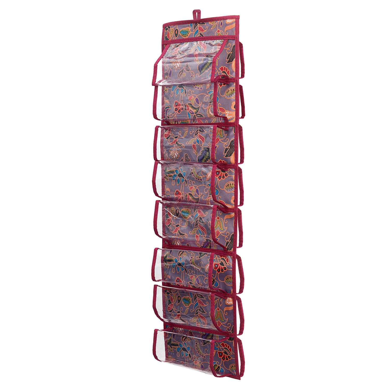 Органайзер для вещей Homsu HOM-1087, бордовый органайзер для хранения шарфов и мелочей homsu bora bora подвесной 20 х 80 см
