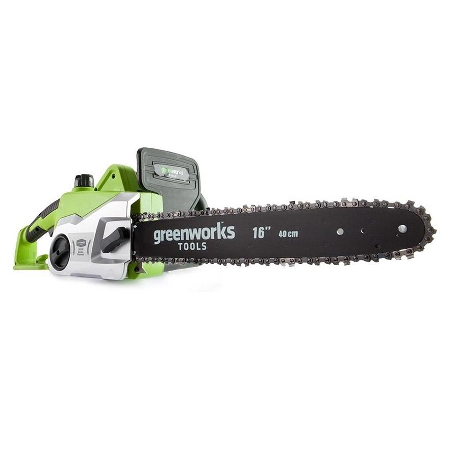 Цепная электропила Greenworks GCS1840 цепная электропила sturm 4603010030805