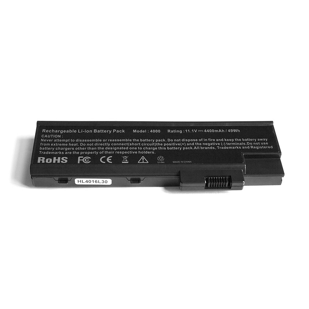 Аккумулятор для ноутбука OEM Acer 3000, 5000 Series. 11.1V 4400mAh PN: 916-3020, BTP-AS1681 аккумулятор для ноутбука hp compaq hstnn lb12 hstnn ib12 hstnn c02c hstnn ub12 hstnn ib27 nc4200 nc4400 tc4200 6cell tc4400 hstnn ib12