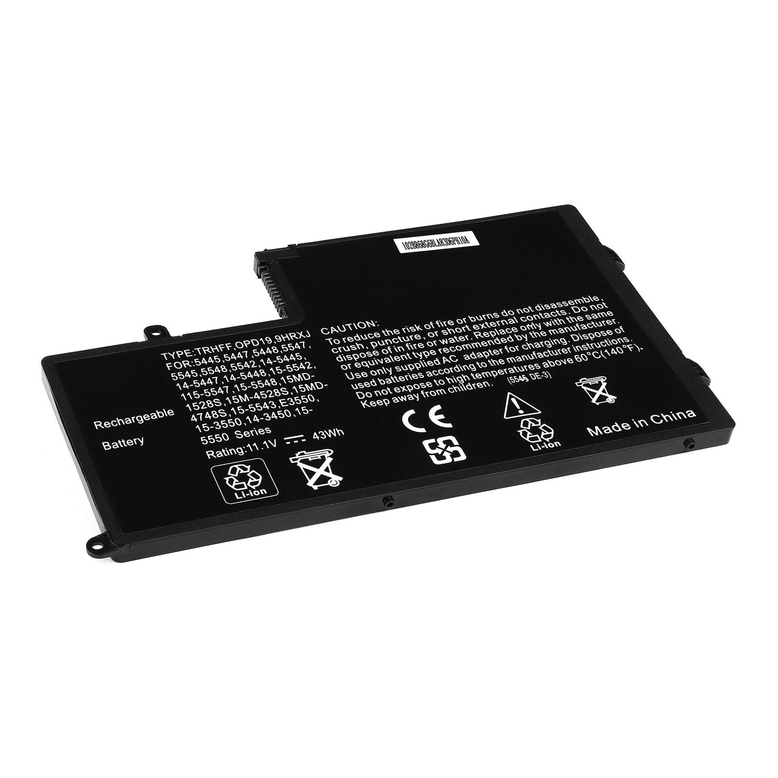 Аккумулятор для ноутбука OEM Dell Inspiron 15-5000 Series.11.1V 3950mAh. аккумулятор oem 15