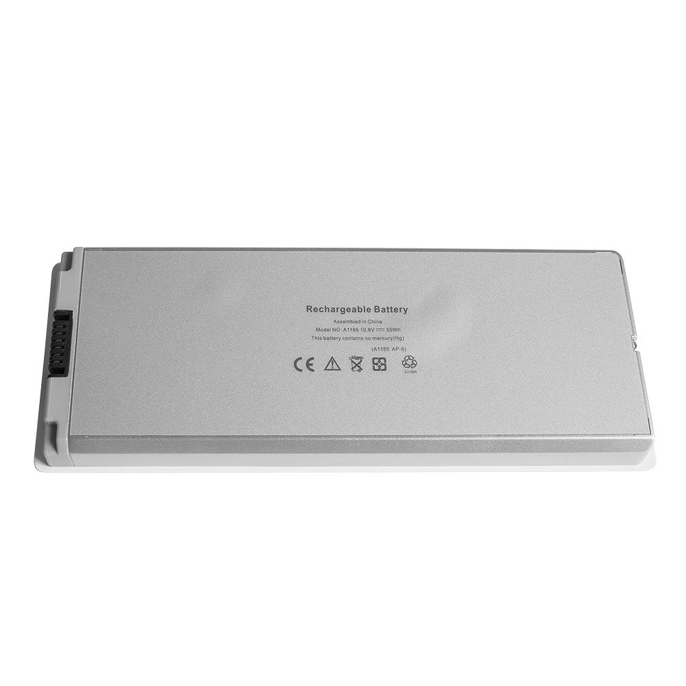 Аккумулятор для ноутбука OEM Apple (A1185) MacBook 13 A1181. 10.8V 5100mAh PN: A1185, MA561 Белый аксессуары для фотостудий oem 100