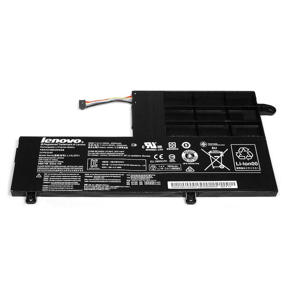 Аккумулятор для ноутбука OEM Lenovo Flex 3, Yoga 500 14ISK. 7.4V 4050mAh. PN: L14L3P21, L14M3P21 цена
