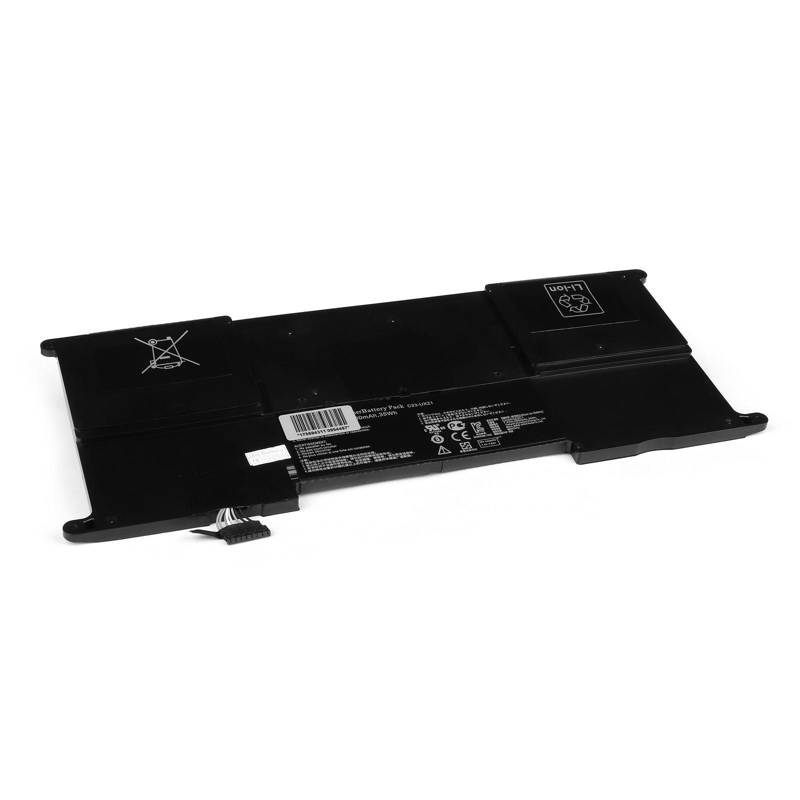 Аккумулятор для ноутбука OEM Asus Zenbook UX21, UX21A, UX21E Series. 7.4V 4800mAh. PN: C23-UX21 цены